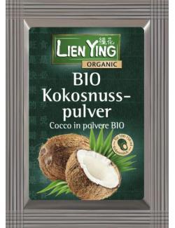 Lien Ying Organic Bio Kokosnusspulver (MHD 31.08.2018) (50 g) - 4013200888312