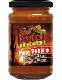 Don Enrico Mexicano Mole Poblano Chocolate Chilli Sauce