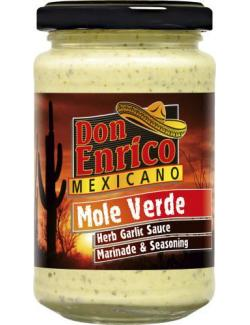 Don Enrico Mexicano Mole Verde Herb Garlic Sauce