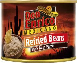 Don Enrico Mexicano Refried Beans Black Bean Puree