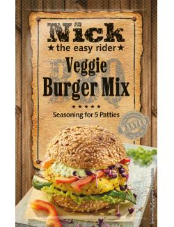 Nick BBQ Veggie Burger-Mix Würzmischung