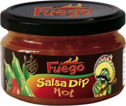 Fuego Salsa Dip hot