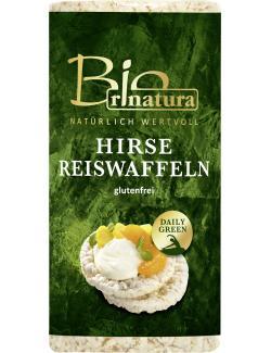 Rinatura Bio Daily Green Hirse Reiswaffeln