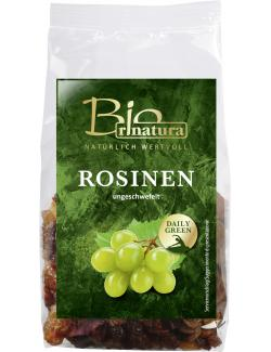 Rinatura Bio Daily Green Rosinen ungeschwefelt