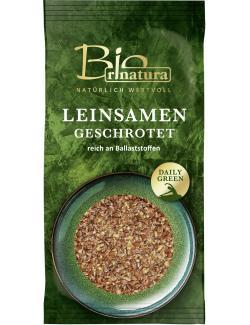 Rinatura Bio Daily Green Leinsamen geschrotet