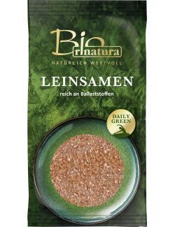 Rinatura Bio Daily Green Leinsamen