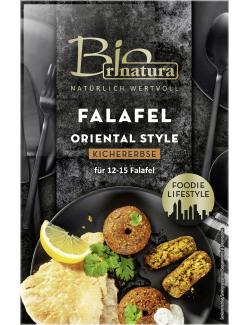 Rinatura Bio Foodie Lifestyle Falafel Oriental Style Kichererbse