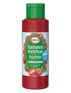 Hela Tomaten Ketchup fruchtig ohne Zuckerzusatz