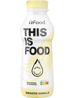YFood This is Food Drink Smooth Vanilla