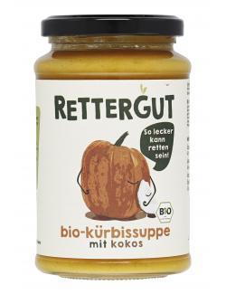 Rettergut Bio Kürbissuppe mit Kokos
