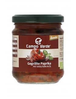 Campo Verde Demeter gegrillte Paprika in Öl