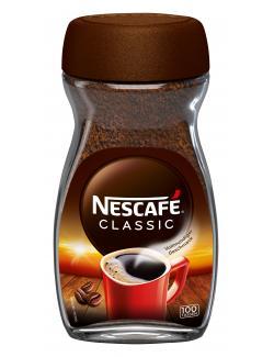 Nescafé Classic löslicher Bohnenkaffee