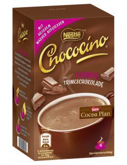 Nestlé Chococino Trinkschokolade, Faltschachtel