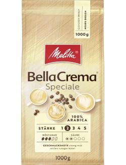 Melitta Bella Crema Cafe Speziale Bohnen