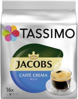 Tassimo Kapseln Jacobs Caffè Crema mild, 16 Kaffeekapseln