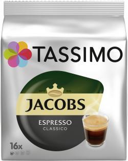 Tassimo Kapseln Jacobs Espresso classico, 16 Kaffeekapseln