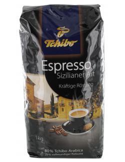 Tchibo Espresso Sizilianer Art ganze Bohne (1 kg) - 4046234816099