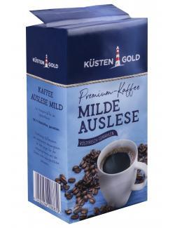 Küstengold Kaffee Auslese mild