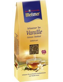 Meßmer Schwarzer Tee Vanille