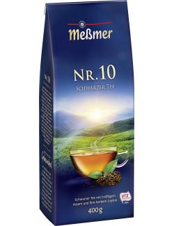 Meßmer Nr. 10 Schwarzer Tee (400 g) - 4002221016712