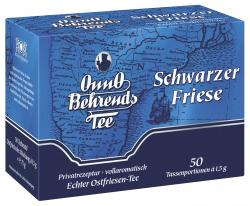 Onno Behrends Schwarzer Friese Tassenbeutel