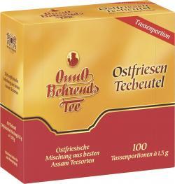 Onno Behrends Ostfriesen Teebeutel