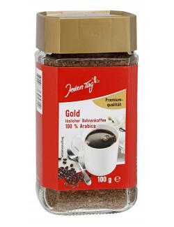 Jeden Tag Gold Löslicher Bohnenkaffee