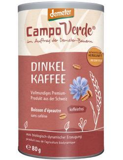 Campo Verde Demeter Dinkel Kaffee