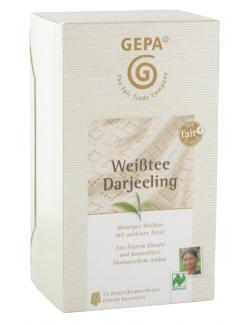 Gepa Weißtee Darjeeling (25 x 2 g) - 4013320205426