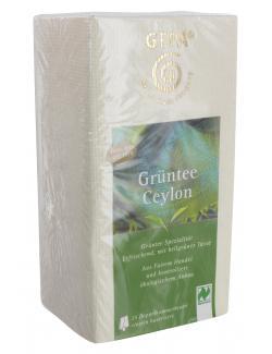 Gepa Bio Grüntee Ceylon (25 x 2 g) - 4013320206836