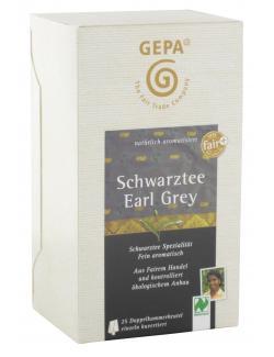 Gepa Bio Schwarztee Earl Grey (25 x 1,70 g) - 4013320211175