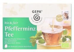 Gepa Bio Pfefferminz Tee (20 x 1,70 g) - 4013320206669