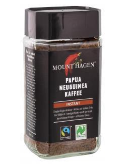 Mount Hagen Papua Neuguinea Kaffee Instant