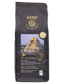 Gepa Bio Espresso Chiapas gemahlen (250 g) - 4013320203477