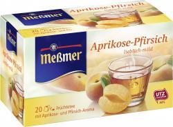 Meßmer Milde Aprikose-Pfirsich (20 x 2,50 g) - 4002221022539