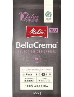 Melitta Bella Crema Selection des Jahres Bohnen