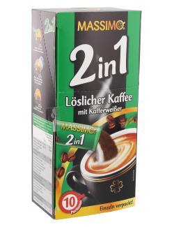 Massimo 2in1 löslicher Kaffee (140 g) - 4021155115957