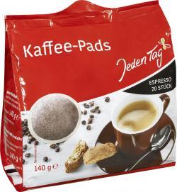 Jeden Tag Kaffee-Pads Espresso