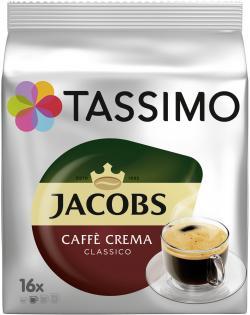 Tassimo Kapseln Jacobs Caffè Crema classico, 16 Kaffeekapseln