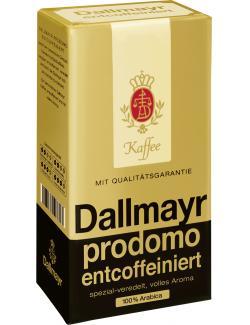 Dallmayr Prodomo Kaffee entcoffeiniert (500 g) - 4008167113713
