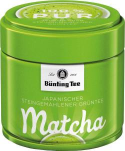Bünting Matcha Grüntee pur (30 g) - 4008837224244