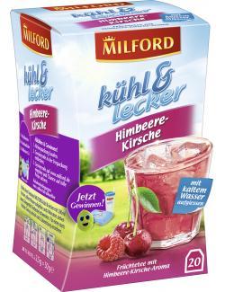 Milford kühl & lecker Himbeere-Kirsche (20 x 2,50 g) - 4002221028135