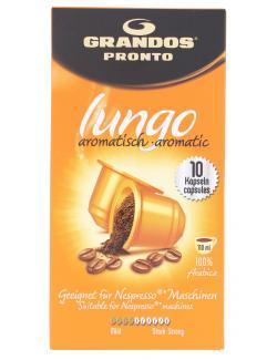 Grandos Pronto Kaffee-Kapseln Lungo aromatisch