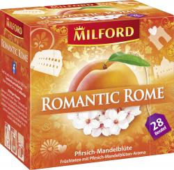 Milford Romantic Rome Pfirsich-Mandelblüte (28 x 2,50 g) - 4002221028975