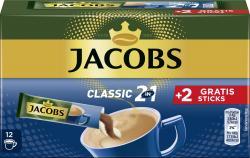 Jacobs 2in1 Tassenportionen Kaffee +2 Gratis