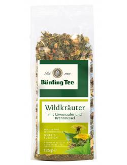 Bünting Tee Wildkräuter (125 g) - 4008837227122