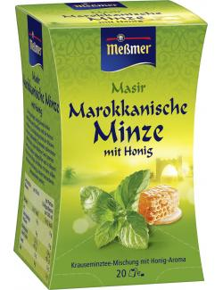 Meßmer Marokkanischer Masir Minze-Honig (20 x 2 g) - 4002221030909