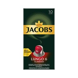Jacobs Kaffeekapseln Lungo 6 Classico, 10 Nespresso®* kompatible Kapseln