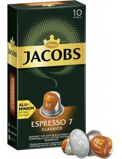 Jacobs Kaffeekapseln Espresso 7 Classico, 10 Nespresso