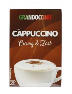 Krüger Grandoccino Cappuccino Cremig Zart (10 x 15 g) - 4052700092614